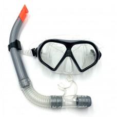 Набор для плавания (маска и трубка) Newt DLV серый NE-SW-95-GR