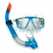Набор для плавания (маска и трубка) Newt DLV голубой NE-SW-42-BL