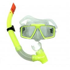 Набор для плавания (маска и трубка) Newt DLV салатовый NE-SW-42-Y