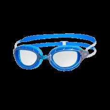 Очки для плавания Zoggs PREDATOR CLEAR/ SILVER/ BLUE