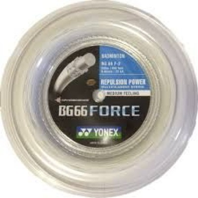 Струна для бадминтона Yonex BG-66 Force 200m White