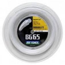Струна для бадминтона Yonex BG-65 500m White
