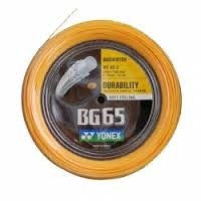Струна для бадминтона Yonex BG-65 200m White, Blue, Yellow, Black, Orange