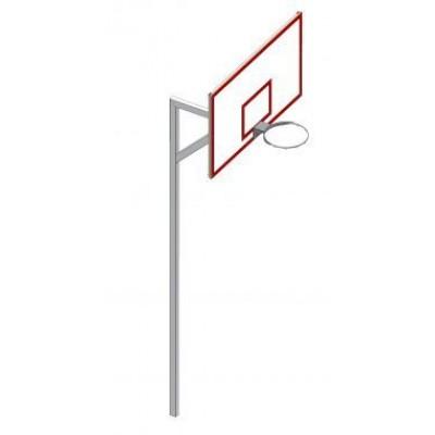 Щит баскетбольный 180х105, стандарт FIBA Vadzaari УА110