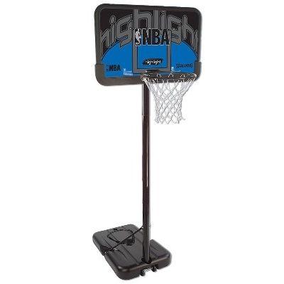 Баскетбольная стойка Spalding NBA Silver Highlight 44
