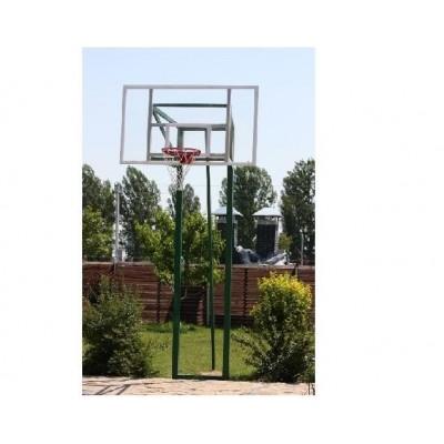 Стойки стационарные баскетбольные Техноспорт-Альянс с выносом 40-60см