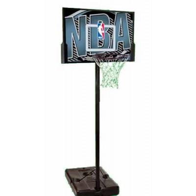 Баскетбольная стойка Spalding NBA Logoman 44 Rectangl Composite