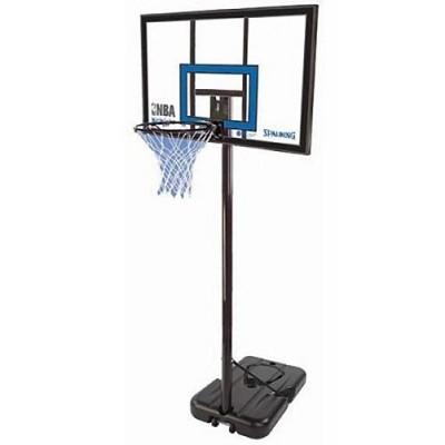Баскетбольная стойка Spalding NBA Gold Highlight 42 Rectangle Composite