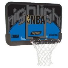 """Щит баскетбольный Spalding NBA Highlight 44"""" Composite 80453CN"""