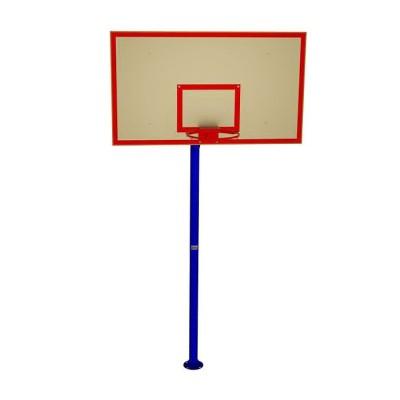 Стенд баскетбольный школьный (180х105) для улиц, фанера влагостойкая InterAtletika УТ408