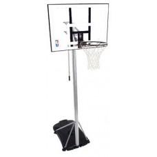 Баскетбольная стойка Spalding Silver 44 Rectangle Acrylic