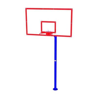 Стенд баскетбольный школьный (180х105) для улиц, акрил InterAtletika УТ408.1
