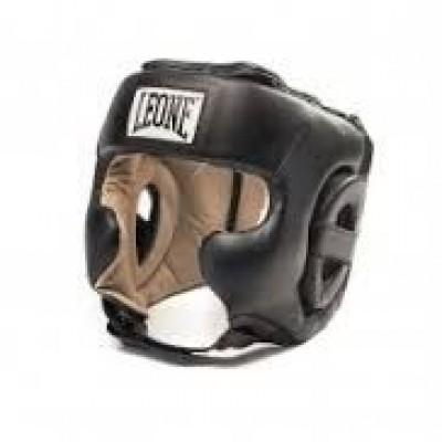 Боксерский шлем Leone Training Black