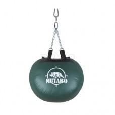 "Груша боксерська кругла "" MUTABO"" ПВХ (р.55х45х55см) на 4 ланцюгах"""