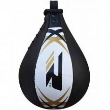 Пневмогруша боксерская RDX Leather White без крепления