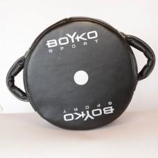 Макивара Boyko круглая с двумя ручками (кожа)