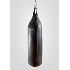 Мешок боксерский Boyko с конусным верхом кожа 4-5 мм 95x30