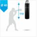 Мешок боксерский Boyko из ткани ПВХ с узлом крепления на ремнях 110х40