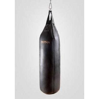 Мешок боксерский Boyko с конусным верхом кожа 4-5 мм 80x30
