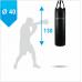 Мешок боксерский Boyko из ткани ПВХ с узлом крепления на ремнях 130х40