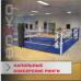 Боксерский ринг Boyko напольный тренировочный, ковер 6,5х6,5 канаты 5,5х5,5