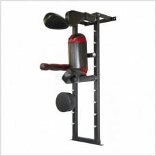 """Тренажер BS ударний - Багатоцільовий пристінний для боксу та єдиноборств 180х47х37"""""""