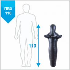 Манекен Boyko для борьбы Силуэт с неподвижными руками из ткани ПВХ 110, 10-15 кг