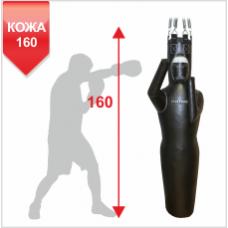 Манекен Boyko для бокса Силуэт с узлом крепления на 6 пружинах ЛЕВЫЙ КОЖА 160х55, 50-60