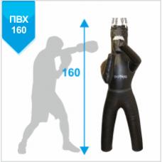 Манекен Boyko для бокса с ногами с узлом крепления на 6 пружинах ПРАВЫЙ ПВХ 160х55, 50-60