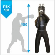 Манекен Boyko для бокса с ногами с узлом крепления на 6 пружинах ПРАВЫЙ ПВХ 180х55, 50-60