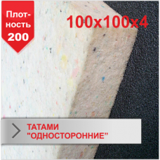 "Мат Татами Boyko ""односторонние"" JUDO 4 х 100 х 100 пл.200"