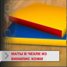 Мат Boyko спортивный в чехле из винилискожи(ЭКОКОЖА-ЛИРА)20х100х100