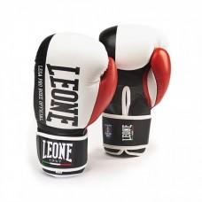 Боксерские перчатки Leone Contender White (10 oz)