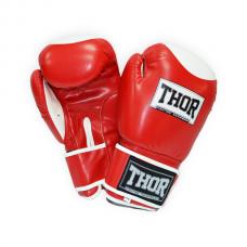 Перчатки боксерские THOR COMPETITION 12oz /PU /красно-белые 500/01(PU) RED/WHITE 12 oz.
