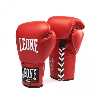 Боксерские перчатки Leone Supreme Red