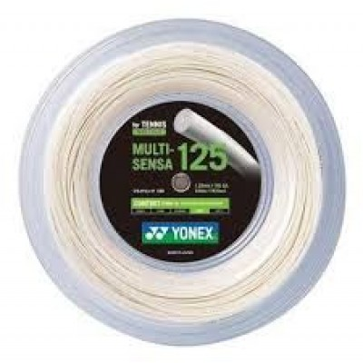 Струна для тенниса Yonex Multi Sensa 16LGa (1,25mm, Graphite, 200m)