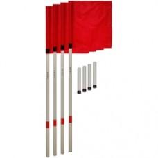 Флаги угловые SWIFT Corner Flag, с пластиковым стаканом (4 шт)