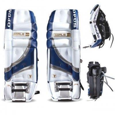 Щитки хоккейные вратарские Opus 3000 3721/WH-BL-S