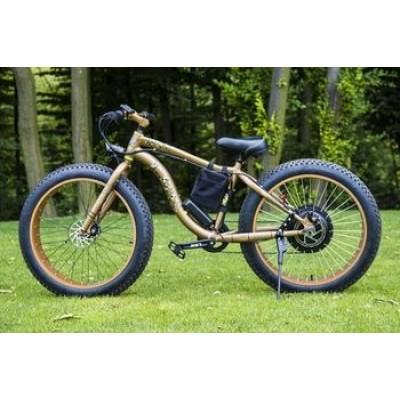 Электровелосипед LKS FATBIKE Electro Rear Drive (500W) (золотой)