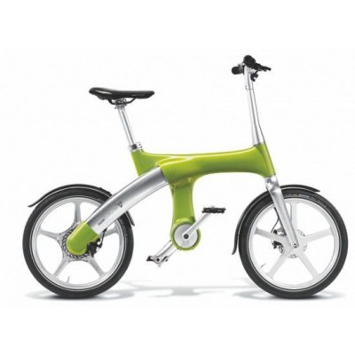 Электровелосипед G2 Mando Footloose (светло-зеленый)