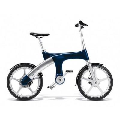 Электровелосипед G2 Mando Footloose (темно-синий)