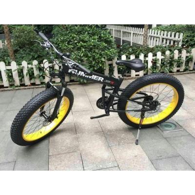 Электровелосипед Hummer Electrobike Foldable (черно-желтый)