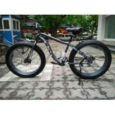 Электровелосипед LKS FATBIKE Electro Rear Drive (черный)