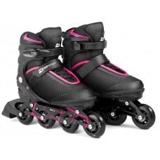 Роликовые коньки 3в1 Hop-Sport HS-903 Motion S (размер) Черно-розовые