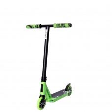 Самокат трюковый Hipe H7 Black/Green 800018