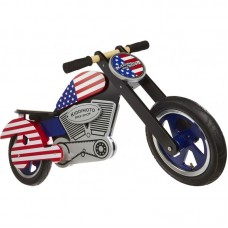 "Беговел Kiddimoto Chopper USA 12""SKD-80-16"