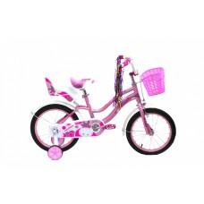 """Детский велосипед CROSSRIDE 16 BMX ST """"ROSE"""", арт.0500"""