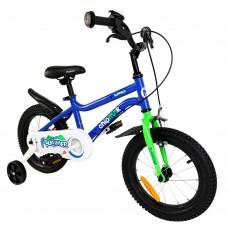 """Велосипед детский RoyalBaby Chipmunk MK 12"""", OFFICIAL UA, голубой CM12-1-blue"""