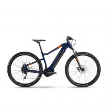 """Электровелосипед Haibike SDURO HardNine 1.5 i400Wh 9 s. Altus 29"""", рама L, сине-оранжево-серый, 2020 4540051048"""