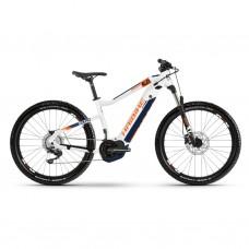 """Электровелосипед Haibike SDURO HardSeven 5.0 i500Wh 10 s. Deore 27.5"""", рама L, бело-ранжево-синий, 2020 4540030048"""